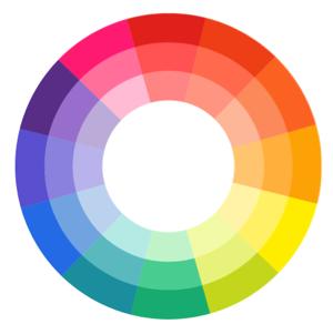 värien valinta